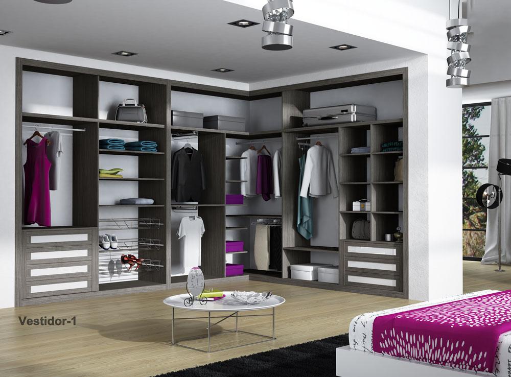 armario interior y vestidor