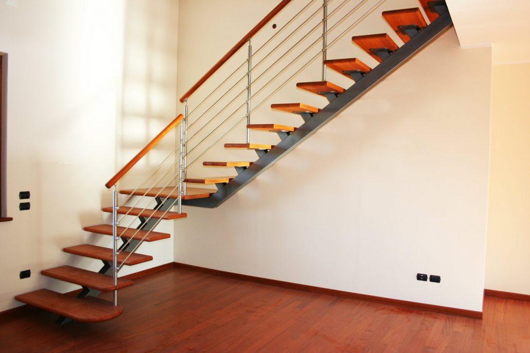 Barandillas de acero y de madera para su escalera - Barandillas de madera para escaleras ...