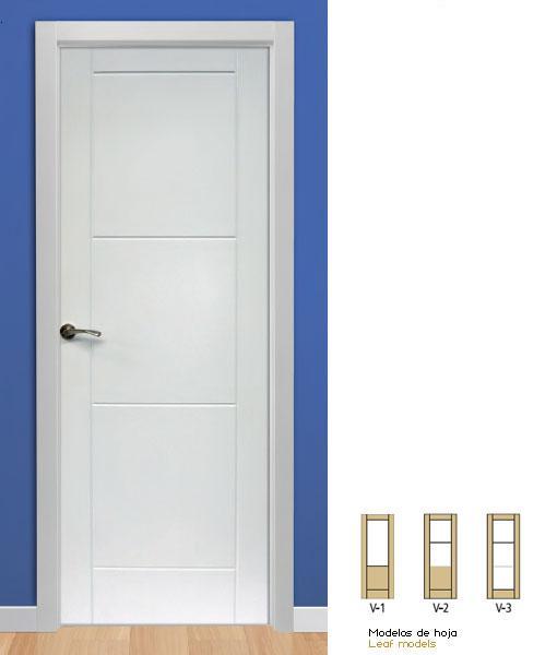 Puertas lacadas de interior en blanco con precios econ micos - Puertas lacadas en blanco ...