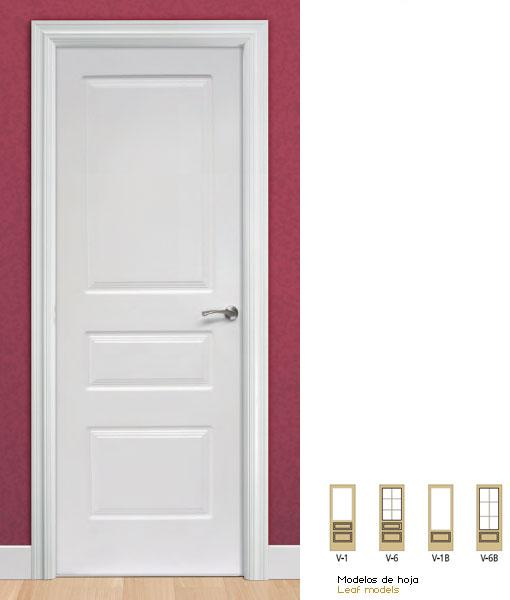 Puertas lacadas de interior en blanco con precios econ micos - Puertas lacadas en blanco precios ...